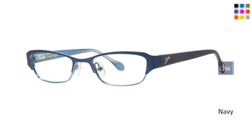 Navy Lilly Pulitzer GIRLS RX Morrigan Eyeglasses