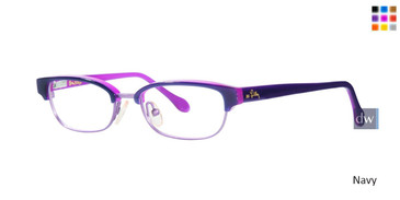 Navy Lilly Pulitzer GIRLS RX Quincy Eyeglasses