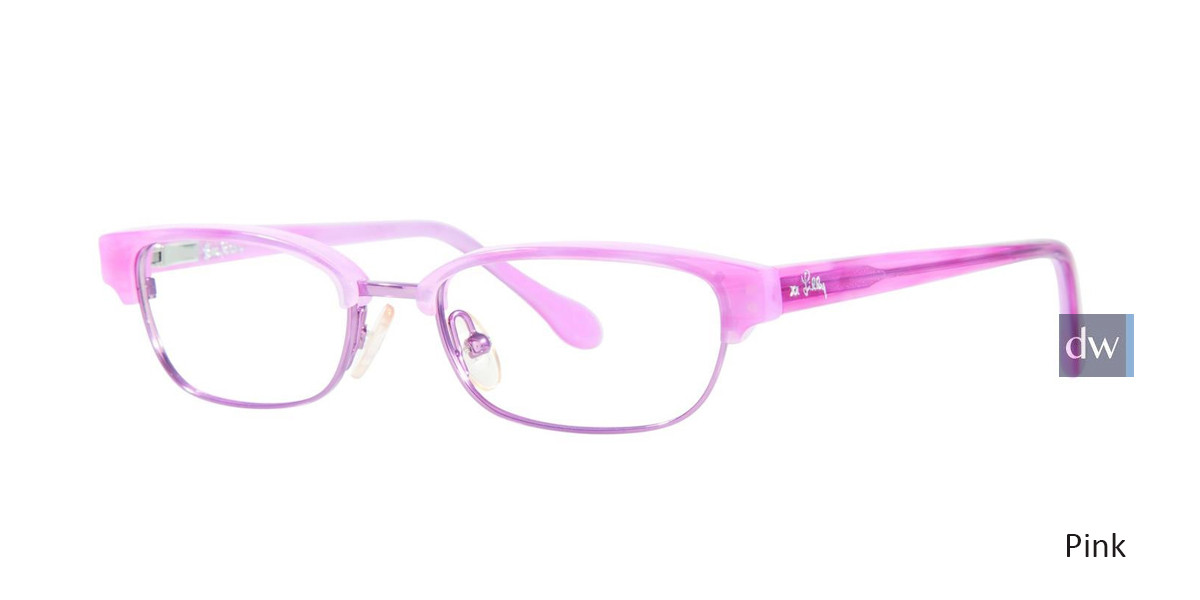 Pink Lilly Pulitzer GIRLS RX Quincy Eyeglasses