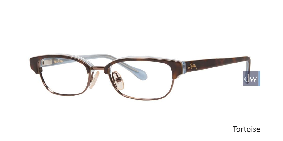 Tortoise Lilly Pulitzer GIRLS RX Quincy Eyeglasses