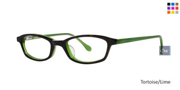 Tortoise Lime Lilly Pulitzer GIRLS RX Stefe Eyeglasses