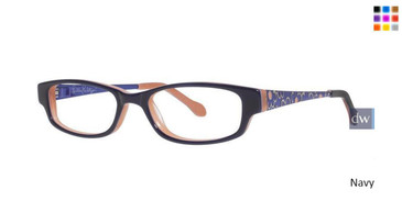 Navy Lilly Pulitzer GIRLS RX Linzy Eyeglasses