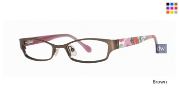 Brown Lilly Pulitzer GIRLS RX Chelsie Eyeglasses