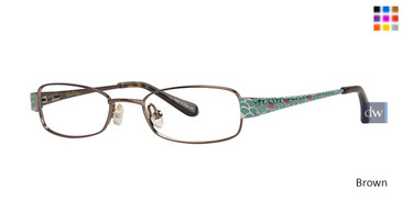 Brown Lilly Pulitzer GIRLS RX Carolina Eyeglasses