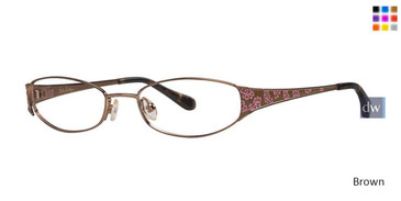 Brown Lilly Pulitzer GIRLS RX Brie Eyeglasses - Teenager