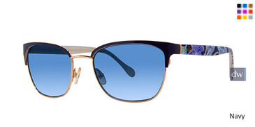 Navy Lilly Pulitzer Cayman Sunglasses