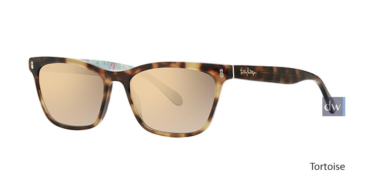 Tortoise Lilly Pulitzer Lucca Sunglasses