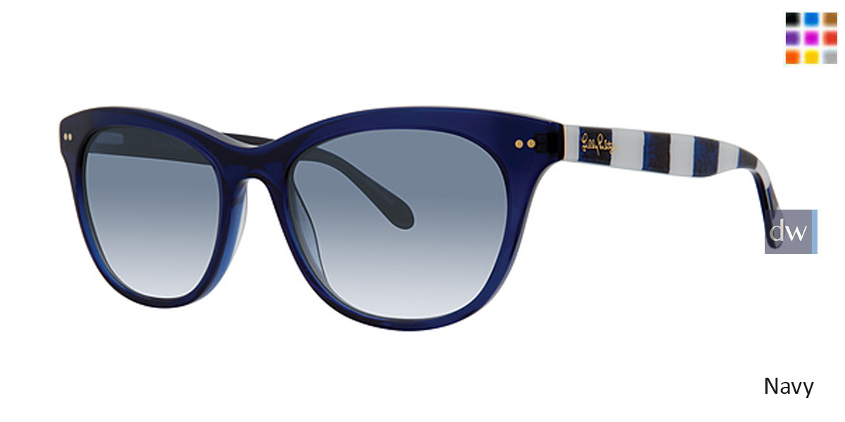 Lilly Pulitzer Womens Mooring Sunglasses
