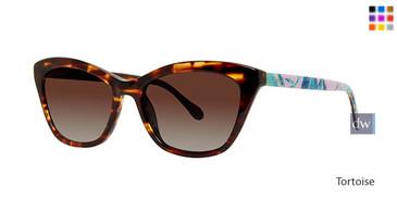 Tortoise Lilly Pulitzer Britta Sunglasses