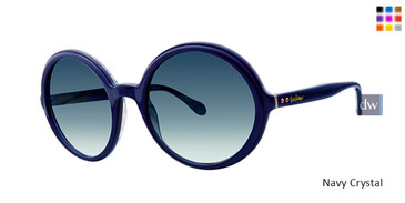 Navy Crystal Lilly Pulitzer Fia Sunglasses