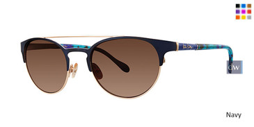 Navy Lilly Pulitzer Kerri Sunglasses