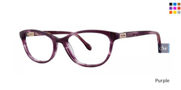 Purple Lilly Pulitzer RX Foster Eyeglasses