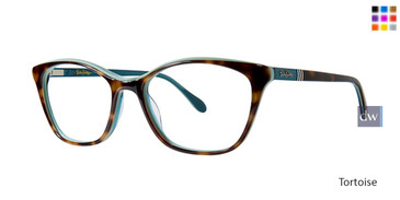 Tortoise Lilly Pulitzer RX Jada Eyeglasses - Teenager