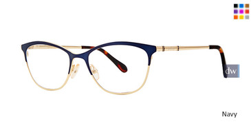 Navy Lilly Pulitzer RX Georgina Eyeglasses - Teenager