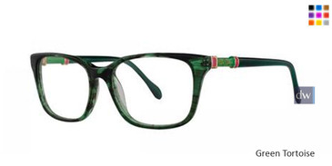 Green Tortoise Lilly Pulitzer RX Bailey Eyeglasses