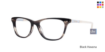 Black Havana Lilly Pulitzer RX Ellis Eyeglasses