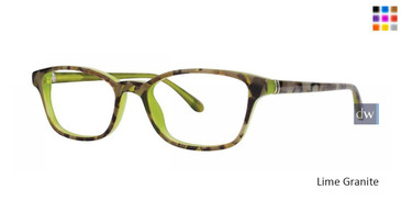 Lime Granite Lilly Pulitzer RX Brewster Eyeglasses - Teenager