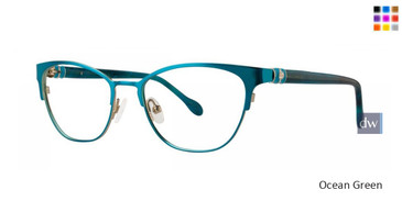 Ocean Green Lilly Pulitzer RX Hayden Eyeglasses - Teenager