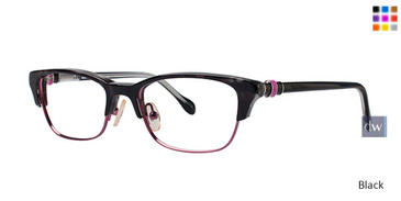 Black Lilly Pulitzer RX Cambell Eyeglasses - Teenager