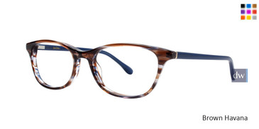 Brown Havana Lilly Pulitzer RX Braydon Eyeglasses