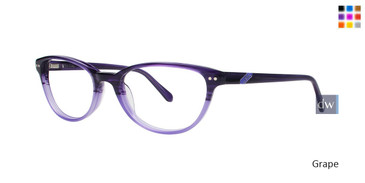 Grape Lilly Pulitzer RX Davie Eyeglasses - Teenager