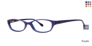 Purple Lilly Pulitzer RX Annie Eyeglasses