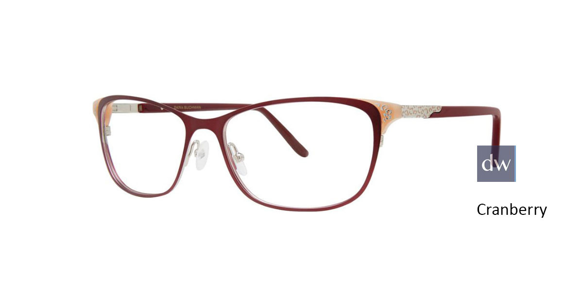 Cranberry Dana Buchman Rose Eyeglasses