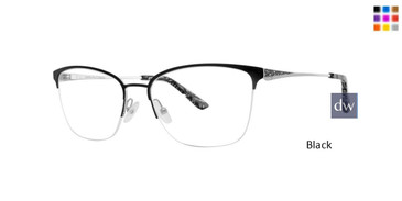 Black Dana Buchman Katherine Eyeglasses