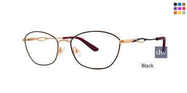 Black Dana Buchman Farlow Eyeglasses