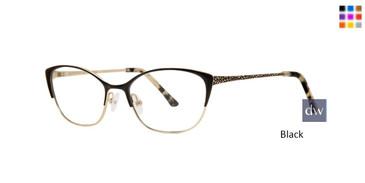 Black Dana Buchman Aunt Lil Eyeglasses