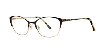 Black Dana Buchman Aunt Lil Eyeglasses.