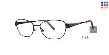 Black Dana Buchman Gardenia Eyeglasses