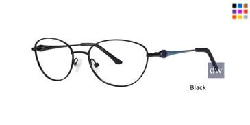Black Dana Buchman Jezelle Eyeglasses