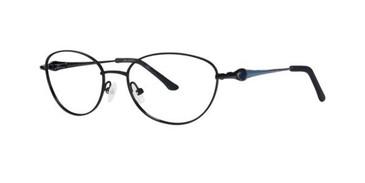Black Dana Buchman Jezelle Eyeglasses.