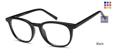 Black CAPRI US98 Eyeglasses - Teenager