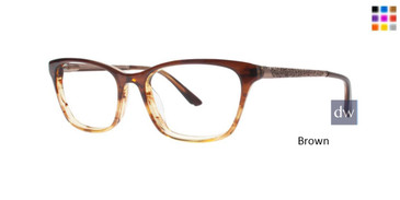 Brown Dana Buchman Coby Eyeglasses