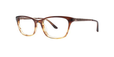 Brown Dana Buchman Coby Eyeglasses.