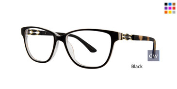 Black Dana Buchman Fleur Eyeglasses
