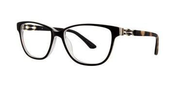 Black Dana Buchman Fleur Eyeglasses.
