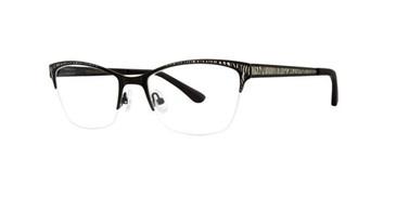 Black Silver Dana Buchman Cordelia Eyeglasses.