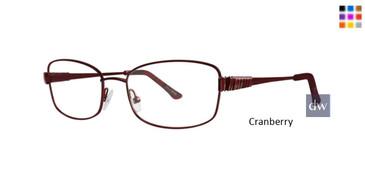 Cranberry Dana Buchman Clementine Eyeglasses