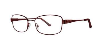 Cranberry Dana Buchman Clementine Eyeglasses.