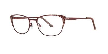 Berry Gold Dana Buchman Glennora Eyeglasses.