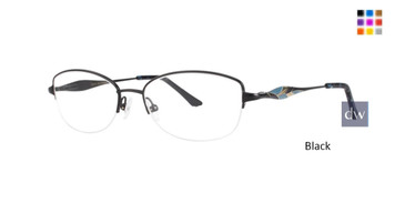 Black Dana Buchman Junia Eyeglasses