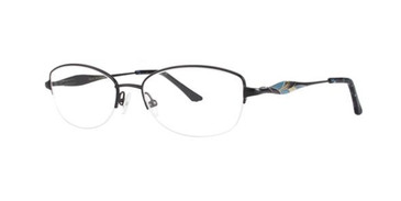 Black Dana Buchman Junia Eyeglasses.