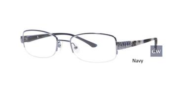 Navy Dana Buchman Holden Eyeglasses