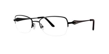 Black Dana Buchman Dena Eyeglasses.
