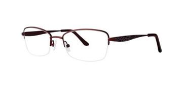 Crimson Dana Buchman Beatriz Eyeglasses.