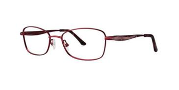 Crimson Dana Buchman Beverly Eyeglasses.