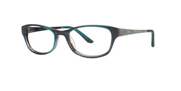Amazon Green Dana Buchman Laurel Eyeglasses.